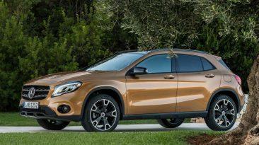 Los 20 SUV más vendidos en agosto de 2017: Mercedes GLA