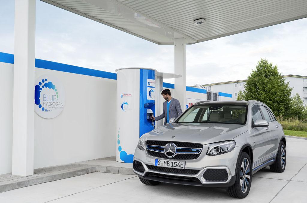 Mercedes-Benz GLC F-Cell 2018: La pila de combustible ya está aquí