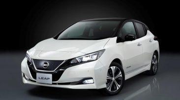 Nissan Leaf 2018 delantera