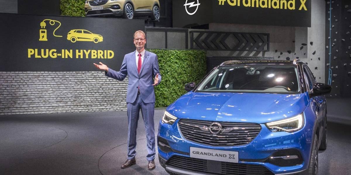 Opel Grandland X Plug-in Hybrid: el primer híbrido enchufable de Opel