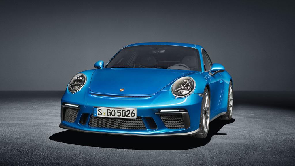 Porsche 911 GT3 con paquete Touring: máxima deportividad, máxima discreción