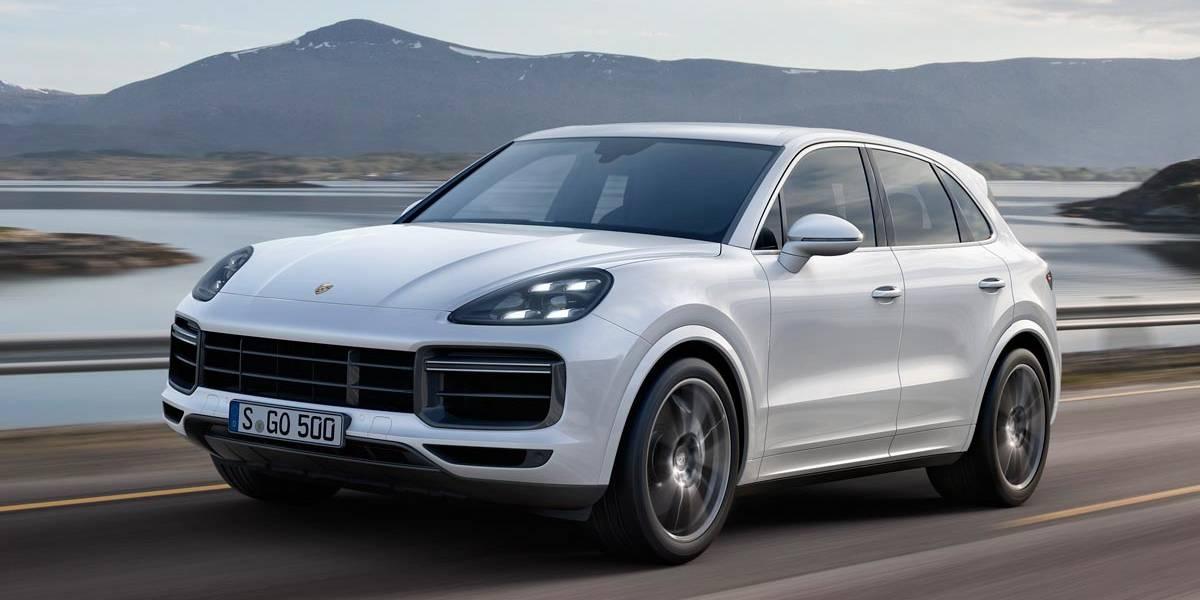 Porsche Cayenne Turbo 2018: aerodinámica activa y un 0-100 km en 4,1 segundos