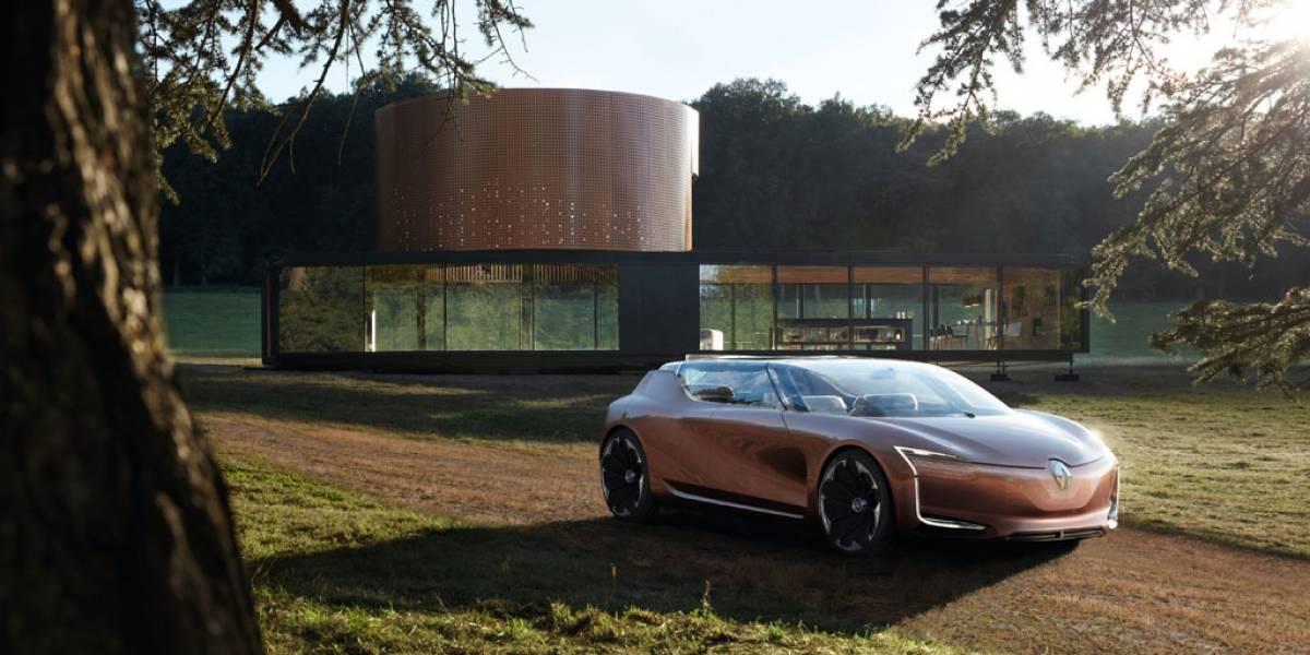 Renault Symbioz: nuevo concepto de vehículo como parte de una vivienda