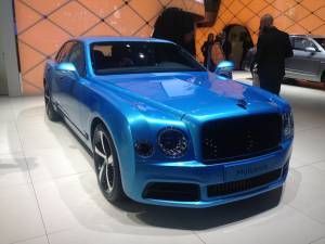 Salón de Fráncfort 2017 -Bentley Mulsanne Limited Edition