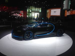 Salón de Fráncfort 2017 - Bugatti Chiron