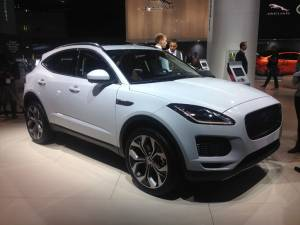 Salón de Fráncfort - Jaguar E-Pace