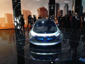 Salón de Fráncfort - Mercedes-Benz Concept EQA