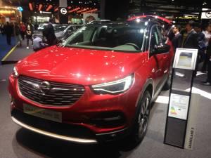 Salón de Fráncfort - Opel GrandLand X