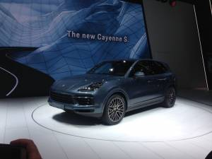 Salón de Francfort 2017 - Porsche Cayenne S