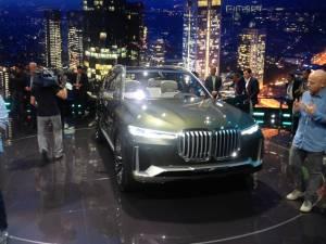 Salón del Fráncfort BMW X7 Concept