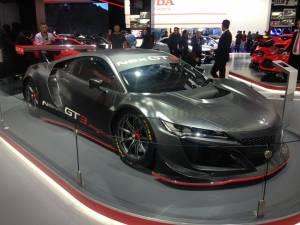 Salón del Fráncfort - Honda NSX GT3