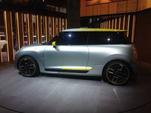 Salón del Fráncfort - MINI Electric Concept