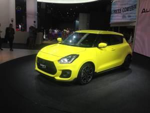 Salón del Fráncfort - Suzuki Swift Sport
