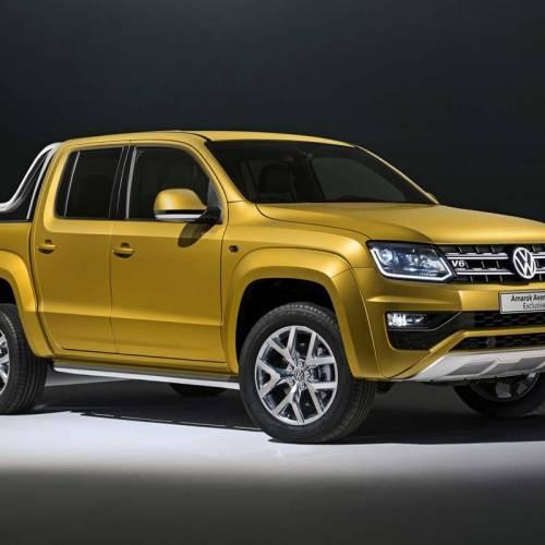 Volkswagen Amarok Aventura Exclusive y Dark Label, contra el Mercedes Clase X