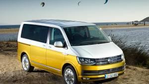 Volkswagen Multivan 'Bulli' 70 aniversario, edición conmemorativa (fotos)