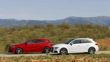 Audi A3 Sportback 2.0 TDI 150 CV o Mercedes Clase A 200 D barridos