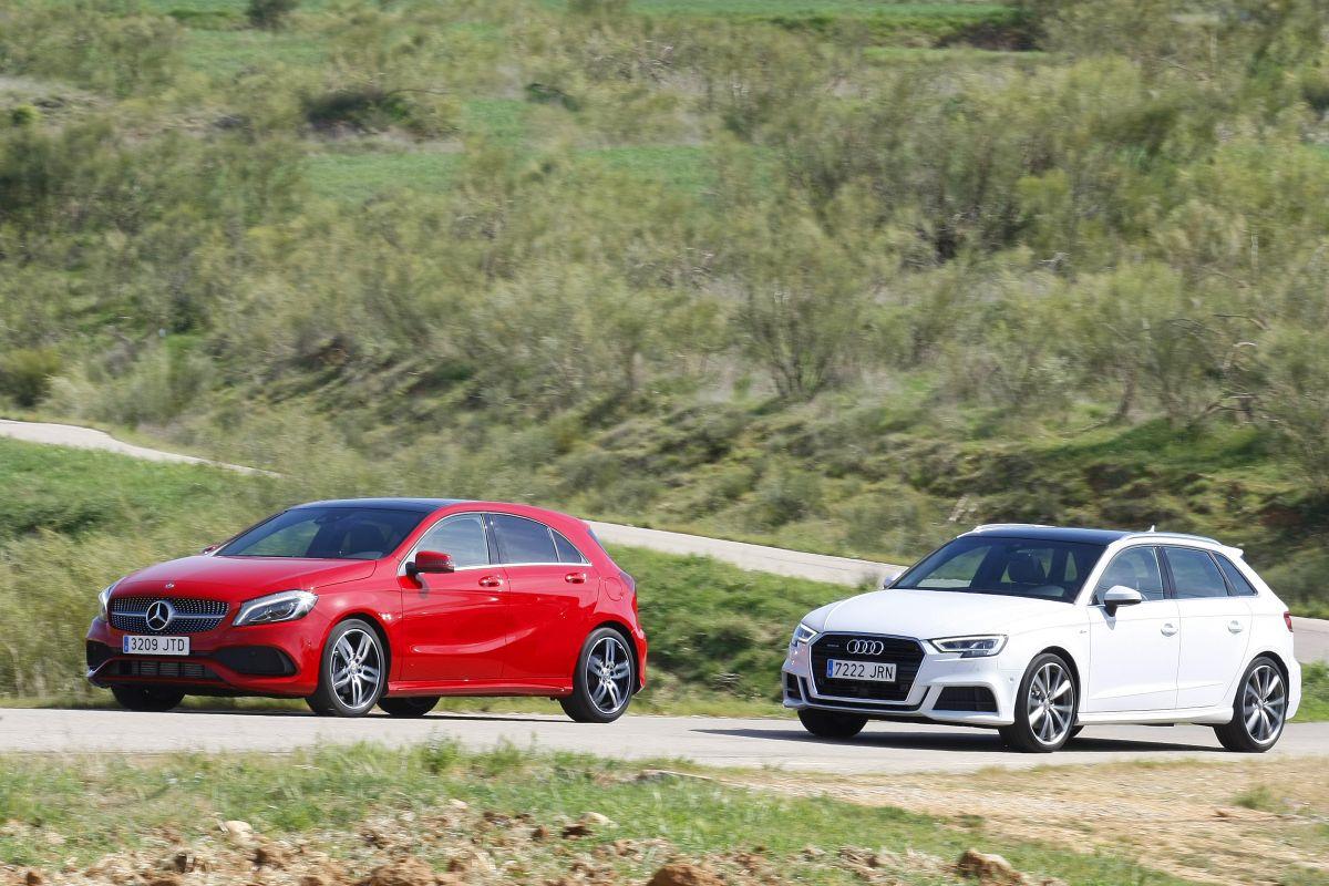 Audi A3 Sportback 2.0 TDI 150 CV o Mercedes Clase A 200 D (fotos)