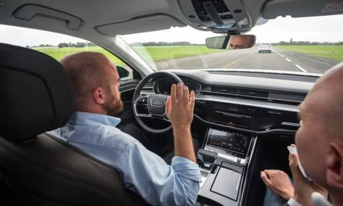 Audi AI traffic jam pilot, probamos el Audi A8 autónomo de nivel 3