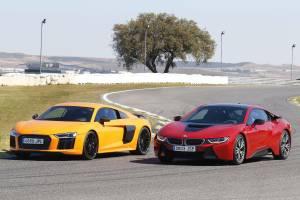 Audi R8 V10 Plus O Bmw I8 Comparativa Fotos