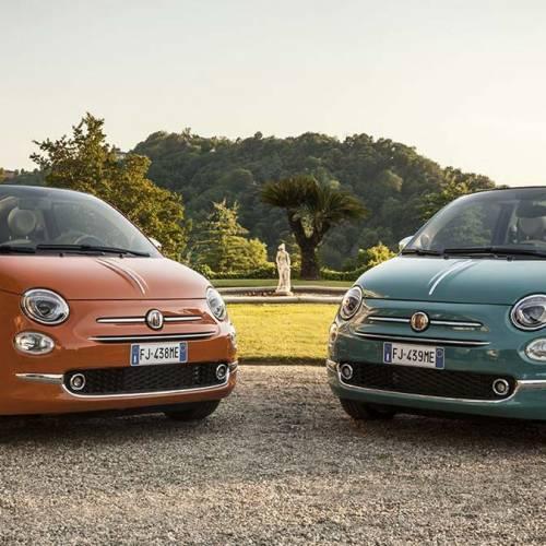 Fiat 500 Aniversario y Fiat 500 Sessantesimo, ya a la venta