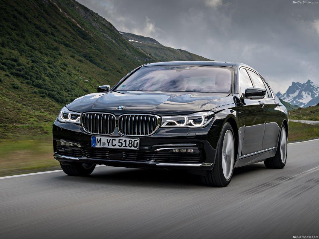 Coches híbridos de más de 60.000 euros. BMW Serie 7