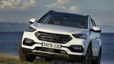 Hyundai Santa Fe 2017 frontal