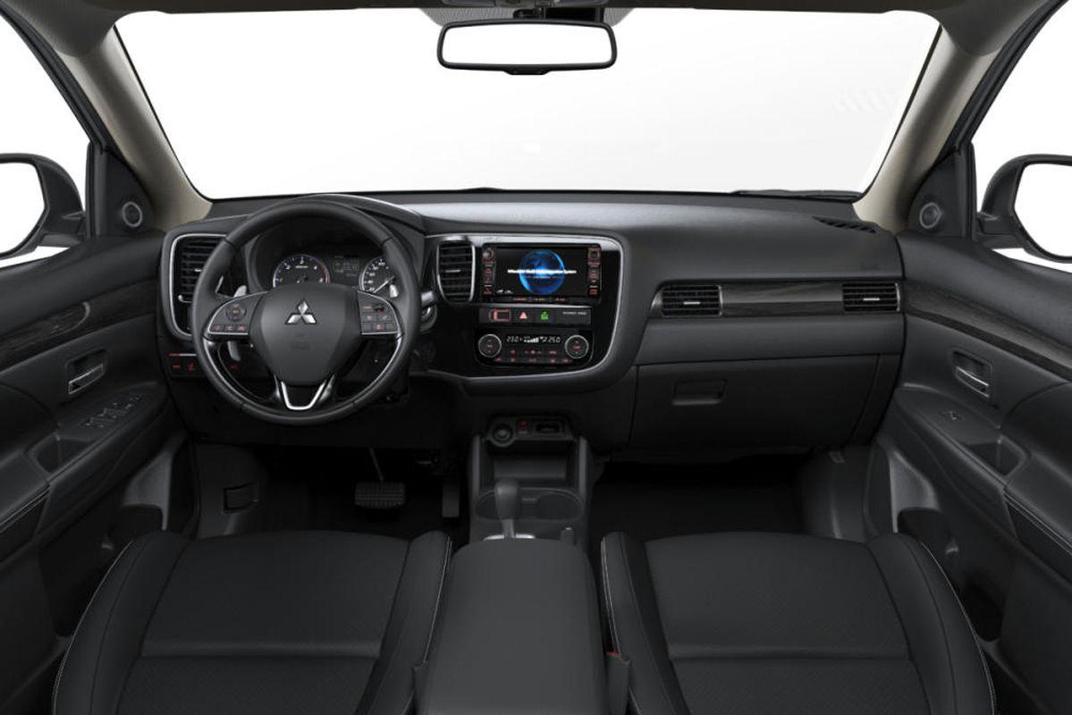 Mitsubishi Outlander 2017 salpicadero