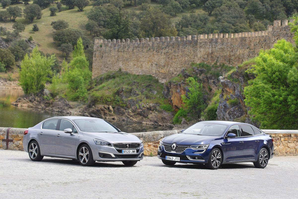 Peugeot 508 2.0 BlueHDi 180 o Renault Talisman dCi 160 (fotos)
