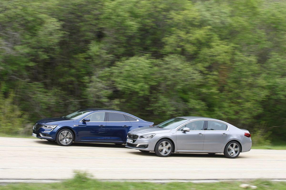 Peugeot 508 2.0 BlueHDi 180 o Renault Talisman dCi 160. Los dos barrido