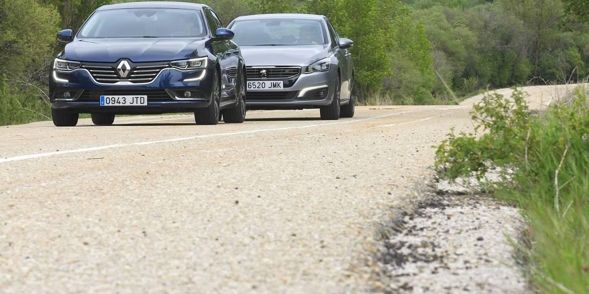 Peugeot 508 2.0 BlueHDi 180 o Renault Talisman dCi 160: comparativa