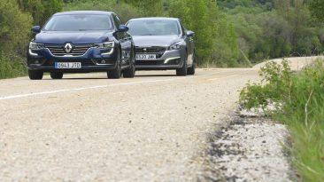 Peugeot 508 2.0 BlueHDi 180 o Renault Talisman dCi 160. Los dos en movimiento