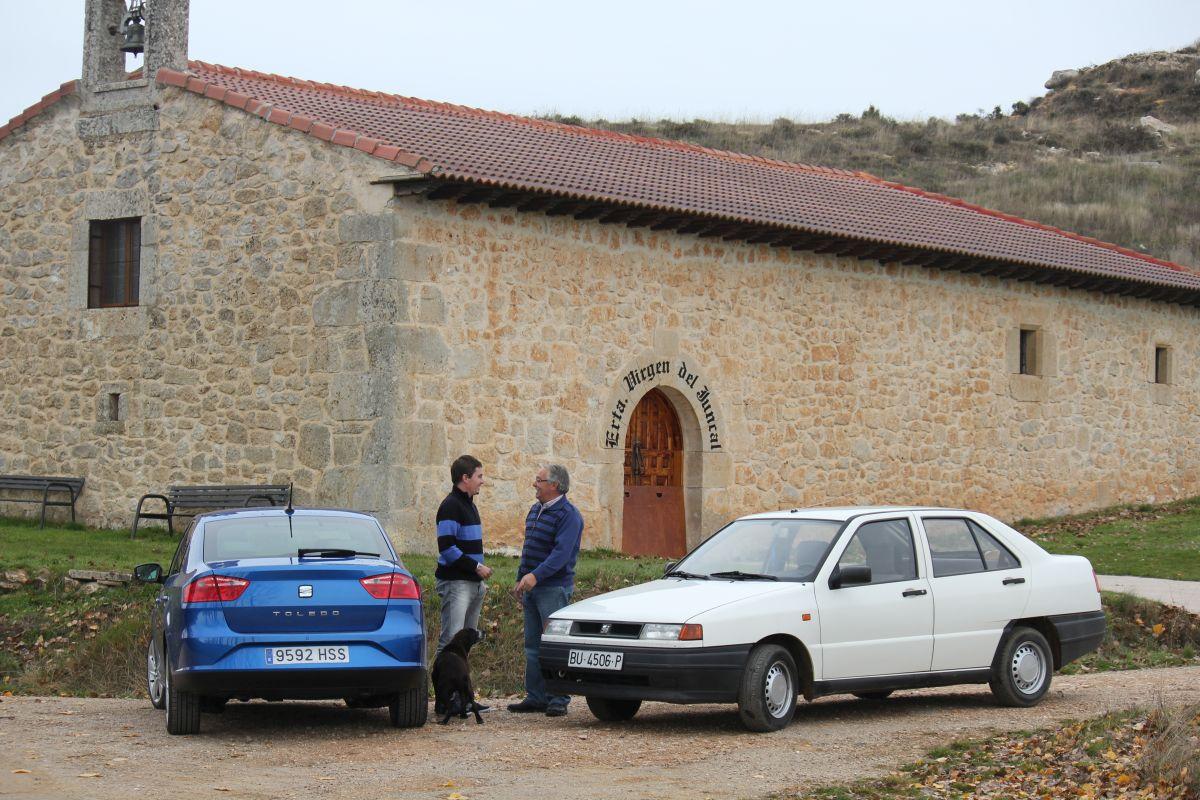 SEAT Toledo I contra SEAT Toledo IV: comparativa (fotos)
