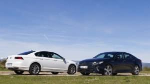Volkswagen Passat Sport 2.0 TSI 280 CV o Kia Optima GT 2.0 T-GDI 245 CV (fotos)