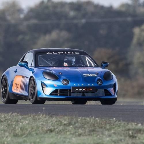 Alpine A110 Cup Racecar, directo a las carreras