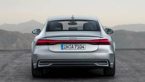 Audi A7 Sportback 2018: tecnología híbrida mild-hybrid de serie (fotos)