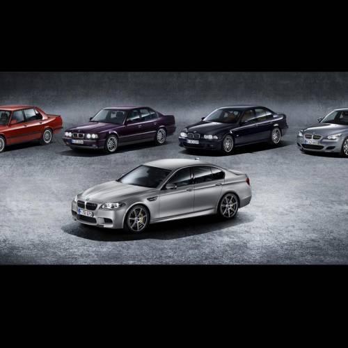 BMW M5: más 30 años de legado deportivo