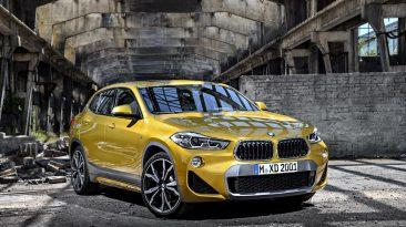 BMW X2 delantera estatica