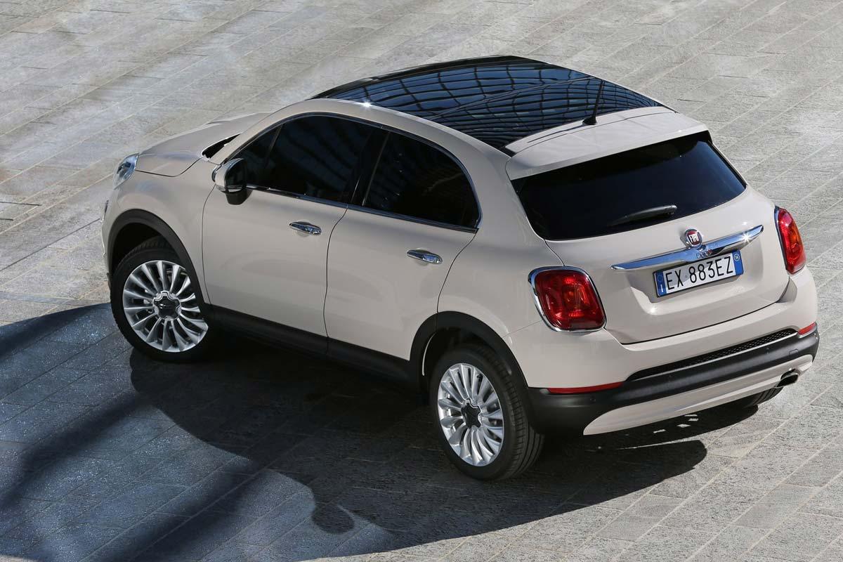 Los SUV pequeños que menos valor pierden. Fiat 500X
