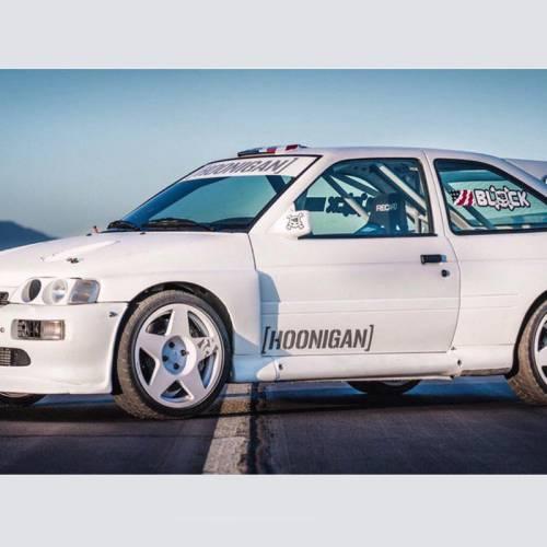 Ford Escort RS Cosworth: el nuevo juguete de Ken Block