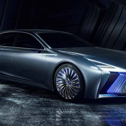 Lexus LS+ Concept, así es el futuro abanderado