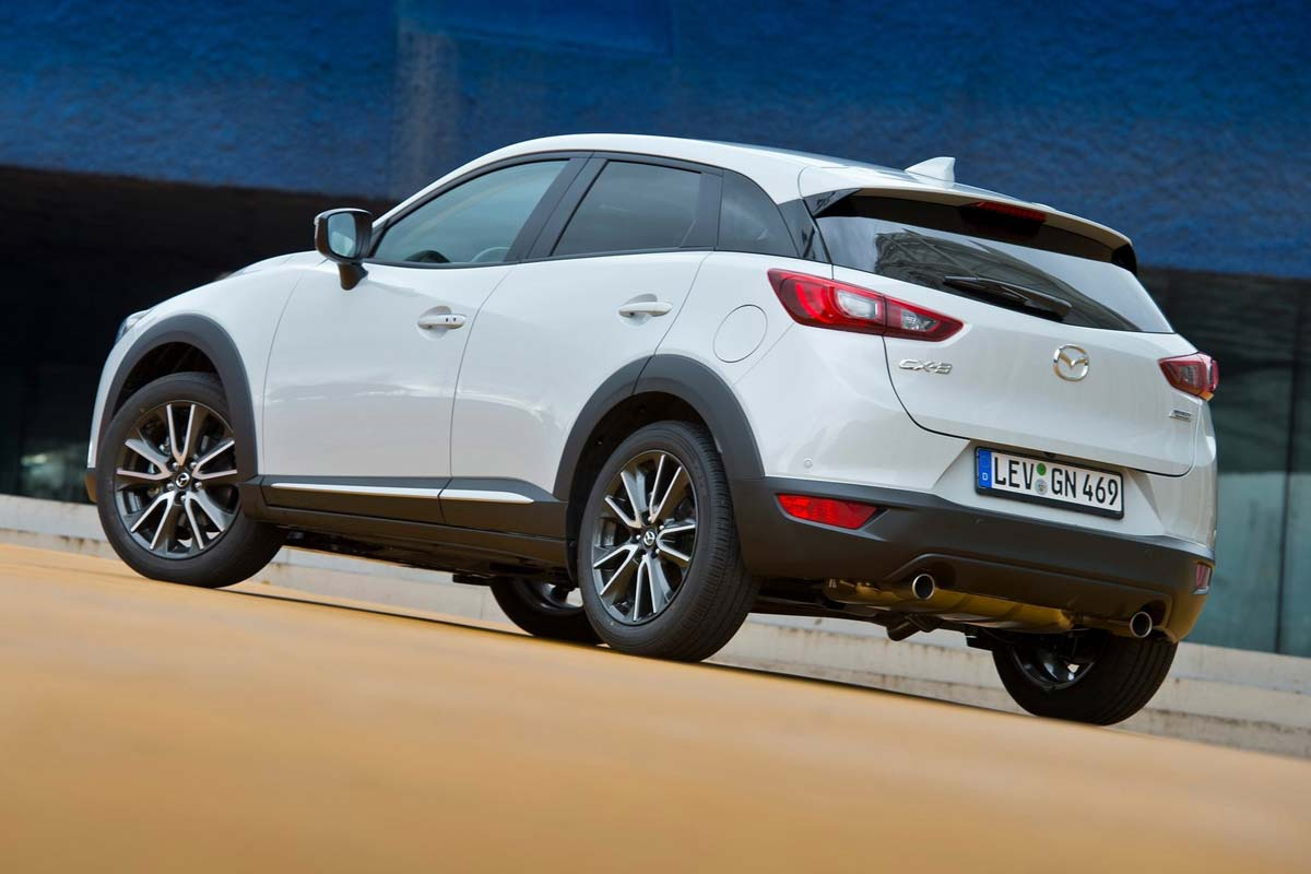 Los SUV pequeños que menos valor pierden. Mazda CX-3