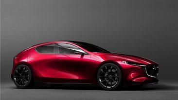 Mazda KAI CONCEPT delantera estatica