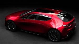 Mazda KAI CONCEPT: ¿será el futuro Mazda3? (fotos)