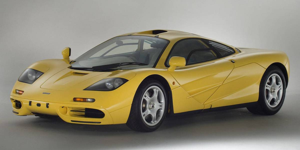 Un Mclaren F1 con 239 km, a la venta