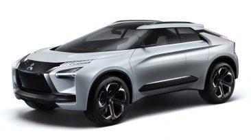 Mitsubishi e-EVOLUTION CONCEPT delantera lateral