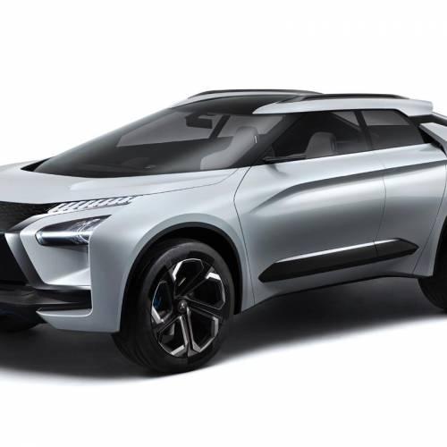 Mitsubishi e-EVOLUTION CONCEPT: el eléctrico de altas prestaciones de Mitsubishi