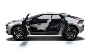 Mitsubishi e-EVOLUTION CONCEPT: el eléctrico SUV de altas prestaciones de Mitsubishi (fotos)
