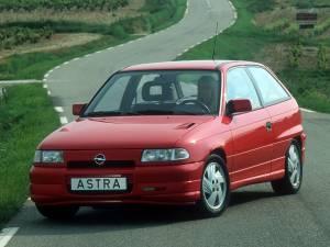 Opel Astra GSI de 1993