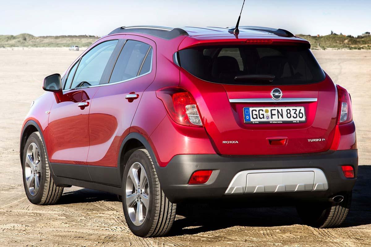 Los SUV pequeños que menos valor pierden. Opel Mokka X