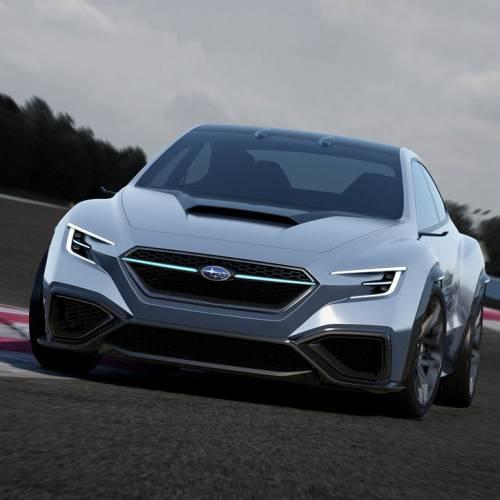 Subaru VIZIV Performance Concept, coupé deportivo de vanguardia